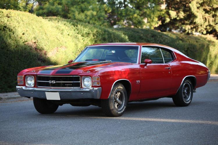 1971 Chevrolet Chevelle SS454 No reserve