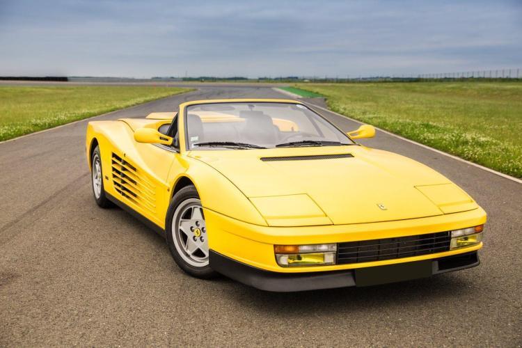1987 Ferrari Testarossa Spider conversion par Lorenz & Rankl No reserve