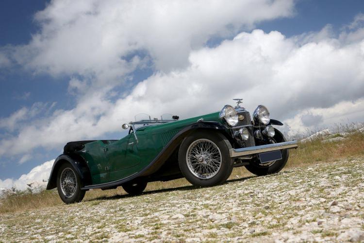 1935 Alvis Speed Twenty SC