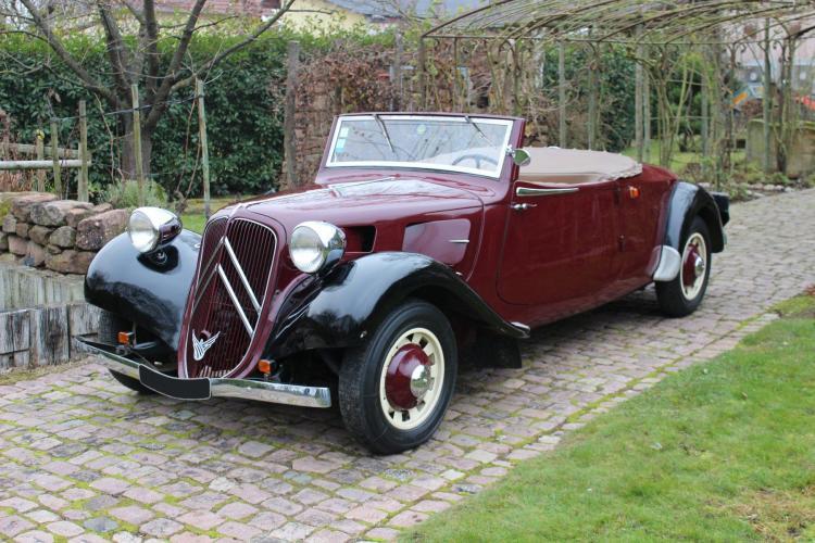 1938 Citroën Traction 11 B cabriolet