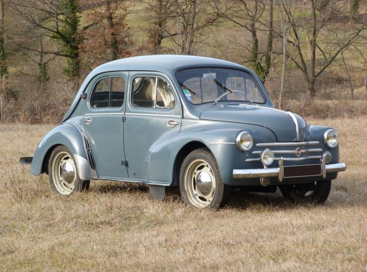 1955 Renault 4cv Sport  No reserve