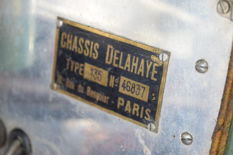 1936 delahaye 135 ch ssis court comp tition cabriolet figoni - Simply carte grise ...