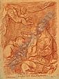 Jean-Robert ANGO (Actif dans la seconde moitié du XVIIIe siècle) VIERGE A L'ENFANT AVEC SAINT ANTOINE..., Jean-Robert Ango, Click for value