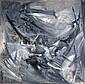 Turan SELIM (1915-1994) SANS TITRE Huile sur toile, Selim Turan, Click for value