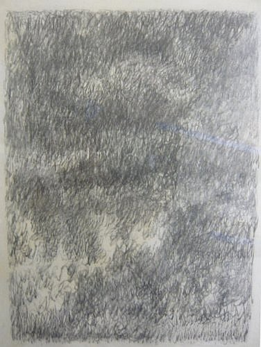 Marc COUTURIER (né en 1946) SANS TITRE Un lot de deux mines de plomb sur papier