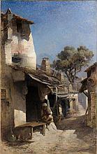 Maurice LEVIS (Paris, 1860 - 1940) Le Dinandier, Constantine