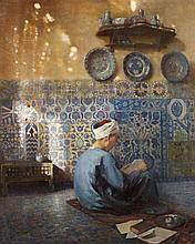 Paul LEROY (Paris, 1860 - Paris, 1942) Le petit talibé