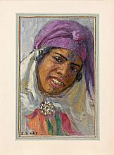 Etienne DINET et Sliman Ben IBRAHIM (Paris, 1861 - Paris, 1929 et 1861 - 1930) Khadra