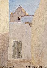Alexandre ROUBTZOFF (St-Pétersbourg, 1884 - Tunis, 1949) Hammamet