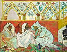 Roger Marcel LIMOUSE (Collo, 1894 - Paris, 1990) L'Heure du thé