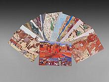 Jacques MAJORELLE (Nancy, 1886 - Paris, 1962) Les Kasbahs de l'Atlas