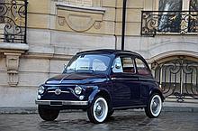 1963 Fiat 500 D coach  No reserve