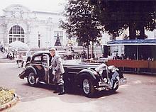 1937 Delahaye 135 Coupes des Alpes coupé Chapron  No reserve