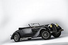 1937 Delahaye 135 Coupe des Alpes Roadster Chapron