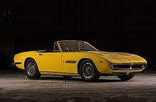 1969 Maserati Ghibli Spyder 4.9 litres