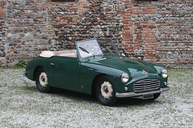 1950 Siata Amica cabriolet Bertone  No reserve