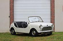 1967 Austin Mini 850 automatique, transformation voiture de plage  No reserve