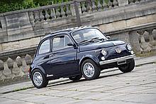 1969 Fiat 500 TV Giannini  No reserve