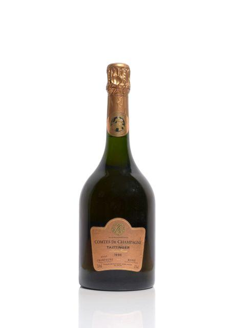 1 bouteille champagne taittinger 1996 comtes de champagne ro. Black Bedroom Furniture Sets. Home Design Ideas
