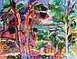 Charles LAPICQUE (1898-1988) LE TRIEUX A LANCERF, 1957 Huile sur toile signée ..., Charles Lapicque, Click for value