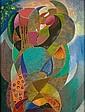 Alfred RETH (1884-1966) COMPOSITION, 1942 Huile, sable et pigment sur panneau d'Isorel, Alfred Reth, Click for value