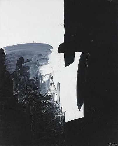 André MARFAING (1925-1987) SANS TITRE, 1969 Huile sur toile