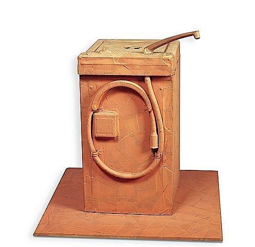 Erik DIETMAN (1937-2002) QUELQUES METRES ET CENTIMETRES D'ALBUPLAST, 1964 Sculpture en albuplast