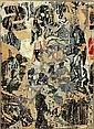François DUFRENE (1930-1982) SANS TITRE, 1964 Décollage d'affiches marouflé sur toile, François Dufrêne, Click for value