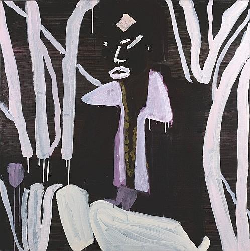 Katherine BERNHARDT (née en 1975) IRIE, (ANNE TAYLOR), 2004 Acrylique sur toile