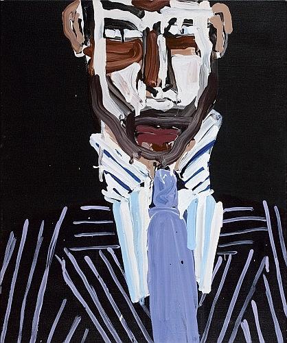 Katherine BERNHARDT (née en 1975) THE GENTELMAN, 2006 Acrylique sur toile