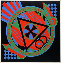 Robert INDIANA (Né en 1928) BERLIN SERIE - HARTLEY ELEGIES, 1991