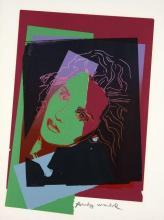 Andy WARHOL (1928-1987) ISABELLE ADJANI - 1986