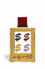 D'après Andy WARHOL (1928-1987) FLACON DOLLARS Prototype d'un flacon de parfum en verre moulé