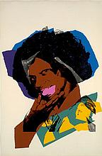 Andy WARHOL (1928-1987) LADIES AND GENTLEMAN - 1975 Sérigraphie en couleurs
