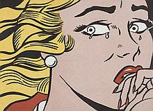 Roy LICHTENSTEIN (1923 - 1997) CRYING GIRL - 1963