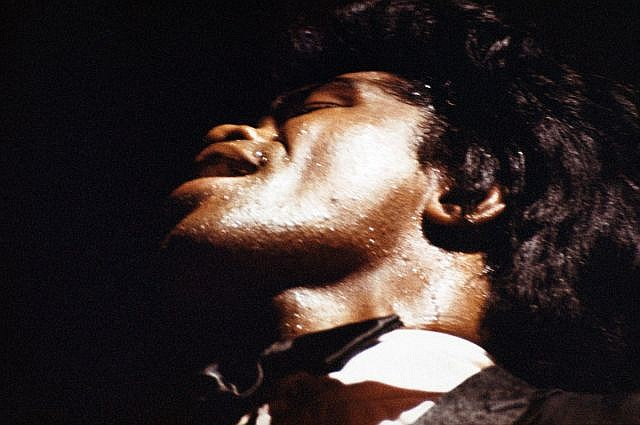 Tony FRANK (Né en 1945) JAMES BROWN, PARIS - 1967 Tirage couleur