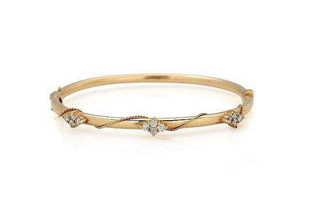 TIFFANY  Bracelet rigide ouvrant