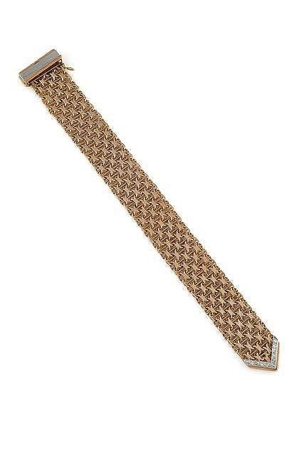 Bracelet paillasson dit