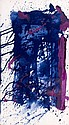 Sam FRANCIS (1923-1994) SF80-658, circa 1980 Acrylique sur papier