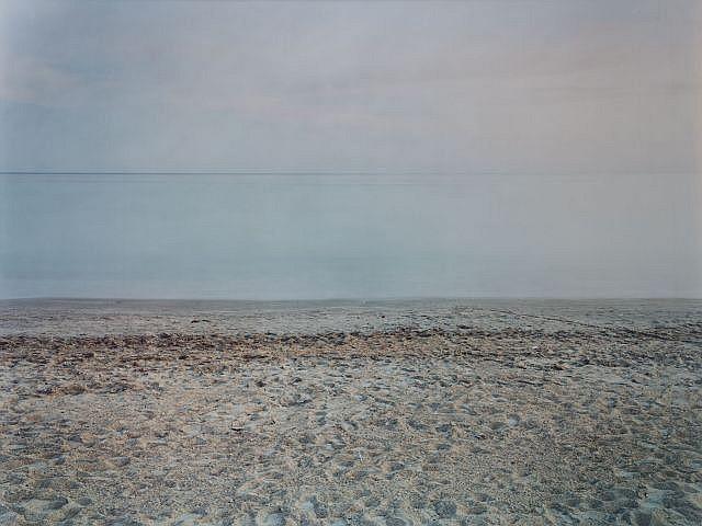 Marie BOVO (née en 1967) PLAGE (LA CIOTAT), 2008 Tirage ilfochrome marouflé sur aluminium (encadré)