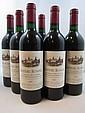 6 bouteilles CHÂTEAU AUSONE 1985 1er GCC (A) Saint Emilion (base goulot