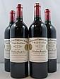 4 bouteilles CHÂTEAU CHEVAL BLANC 2001 1er GCC (A) Saint Emilion
