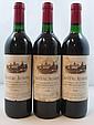 12 bouteilles CHÂTEAU AUSONE 1990 1er GCC (A) Saint Emilion (base goulot