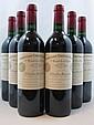 6 bouteilles CHÂTEAU CHEVAL BLANC 1995 1er GCC (A) Saint Emilion
