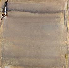 Olivier DEBRE (1920 - 1999) OCRE D'HIVER - 1976 Huile sur toile