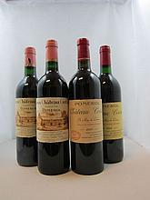 6 bouteilles 1 bt : VIEUX CHÂTEAU CERTAN 1994 Pomerol (capsule déchirée)