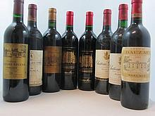 12 bouteilles 1 bt : CHÂTEAU PALMER 1990 3è GC Margaux
