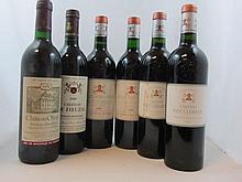 10 bouteilles 1 bt : CHÂTEAU PAPE CLEMENT 1990 CC Pessac Léogna (étiquette tachée)
