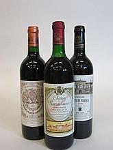 6 bouteilles 2 bts : CHÂTEAU RAUZAN GASSIES 1989 2è GC Margaux (légèrement bas)