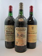 5 magnums 1 mag : CHÂTEAU BEL ORME TRONQUOY LALANDE 1961 CB Haut Médoc (légèrement bas, étiquette abimée)